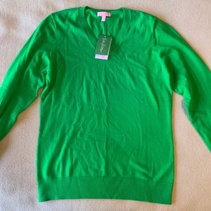 Iilly Pulitzer Green Sweater size L